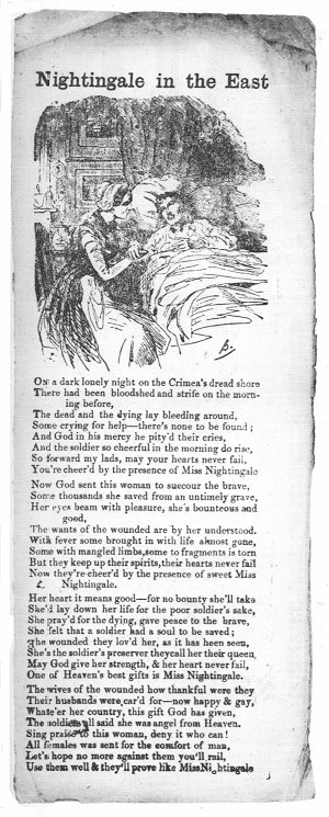 Florence Nightingale: Songs and Poems